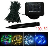 Waterproof Christmas Decorative Solar String Light LED Lighting Rechargeable