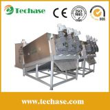 Techase Screw Press, Lower Power Consumption Than a Plate-and-Frame Dehydrator