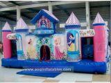 Colourful Princess Inflatable Bouncer Castle (AQ576)