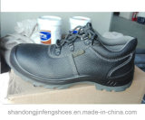 Men Leather Steel Toe Safety Shoes
