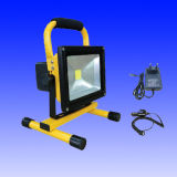 10W Portable Battery Rechargeable LED Floodlight