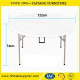 Restaurant Outdoor Folding Round White Table Wholesale