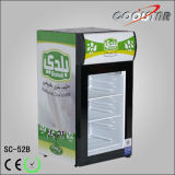 Single Door Countertop Mini Bar Refrigerator with CE (SC52B)