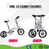 Al Alloy Mini Bicycle Urban Commuter Bike One Second Folding