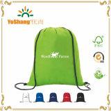 New Recycle Printed Nylon Drawstring Backpack