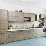 Nouth American Oak Wood L-Shape Kitchen