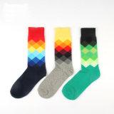 Men′s Cotton Crew Sports Stockings Socks (MA019)