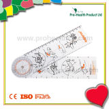 Customized Medical Plastic Goniometer Ruler
