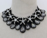 Fashion Jewelry Bead Crystal Collar Choker Necklace (JE0062)