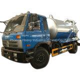 Low Price 4X2 10cbm Vacuum Truck with Cummins Engine