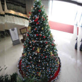 Large Outdoor Christmas Decorations Tree Big Metal Frame Christmas Tree 2013