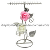 Wrought Iron Jewelry Display for Necklace and Pendant (wy-4481)