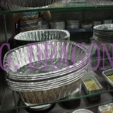 Aluminum Foil Pan Used in Freezer, Oven, Steaming (AFC-009)