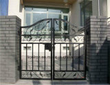 Beautiful Wrought Iron Hot Galvanizing Gates for Residential