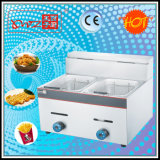 Df-72 Two Tanks Round Burners Gas Fryer for Sale