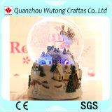 Custom Made Cheap Resin Christmas Music Snow Globe