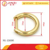Big D Ring Buckle in Brush Gold