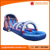 60' Giant Double Lanes Inflatable Water Slide with Pool (T11-100)