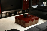 New Classical High Glossy Painting coffee Table