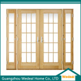 Wooden Patio Door Glass Sliding Style for Project