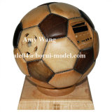 Customized Wooden Soccer Crafts CNC Rapid Prototyping