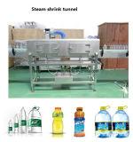 Cosmetic Drinks Bottle Label Steam Shrink Tunnel for Water Juice Soda CSD