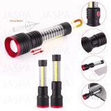 High Lumens Rechargeable Aluminum 5W LED Flashlight (16-1S1706)