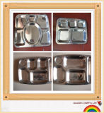 Stainless Steel Fast Food Tray/Snack Tray with High Quality