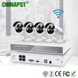 1.0MP 4CH Wireless HD WiFi IP Cameras+NVR Kit (PST-WIPK04AH)