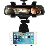 Truck Auto Mobile Phone Car Rearview Mirror Holder for iPhone 7 7 Plus 6s Plus 6