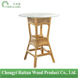 Natural Rattan Round Bar Table