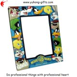 Fashion 3D Soft PVC Picture Frame for Promotion (YH-PF048)