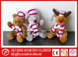 Cute Promotional Gift Mini Plush Rabbit Keychain Toy