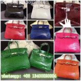 Manufacturer Women Fashion Bags Crocodile Platinum Package
