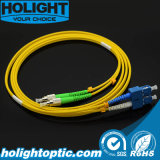 Fiber Optic Patchcord Fca to Sc Duplex Singlemode Yellow