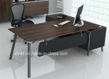 Dark Grey Metal Structure Table Modesty Panel Office Desk (HX-ET14044)