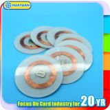 Customized Industrial Transparent LF 125kHz TK4100 PVC RFID Disc Tag