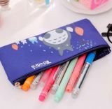 Beauty Nylon Fabric Pencil Bag with Zipper