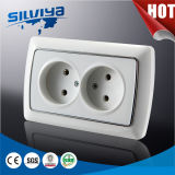 Non-Grounding 2 Gang 2 Pin Wall Socket (16A 250V)