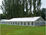 Temporary Warehouse Tent with Steel Sandwich Wall for Workshop