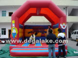 Funny Inflatable Clown Bouncy Castle for Children