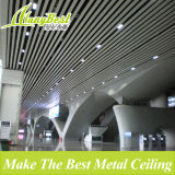 Artistic Fireproof Linear Metal Ceiling for Roof Decoration