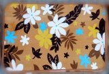 New Design Flannel Printing Floor Mat