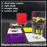 set kitchenware tempered glass coaster