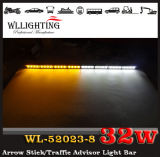Dual-Color LED Traffic Advisor Warning Dash Lights