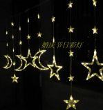 Christmas Wedding Curtain Star String Lights for Homedecoration