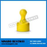 New Design Plastic Lapel Pin Magnetic
