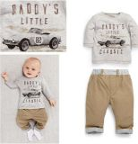 Baby Boy T-Shirt with Pant in Children Clothes Suits