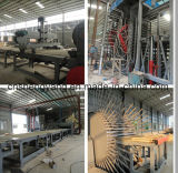 MDF Board Machinery/Laminated Hot Press Particle Board Production Line