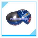 Ball Shapes Tin Box for Christmas Gift